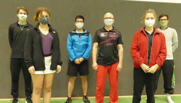 Erweitertes Trainerteam unter Corona-Bedingungen